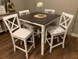 Farmhouse Table for Four