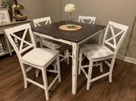 Farmhouse Table for Four